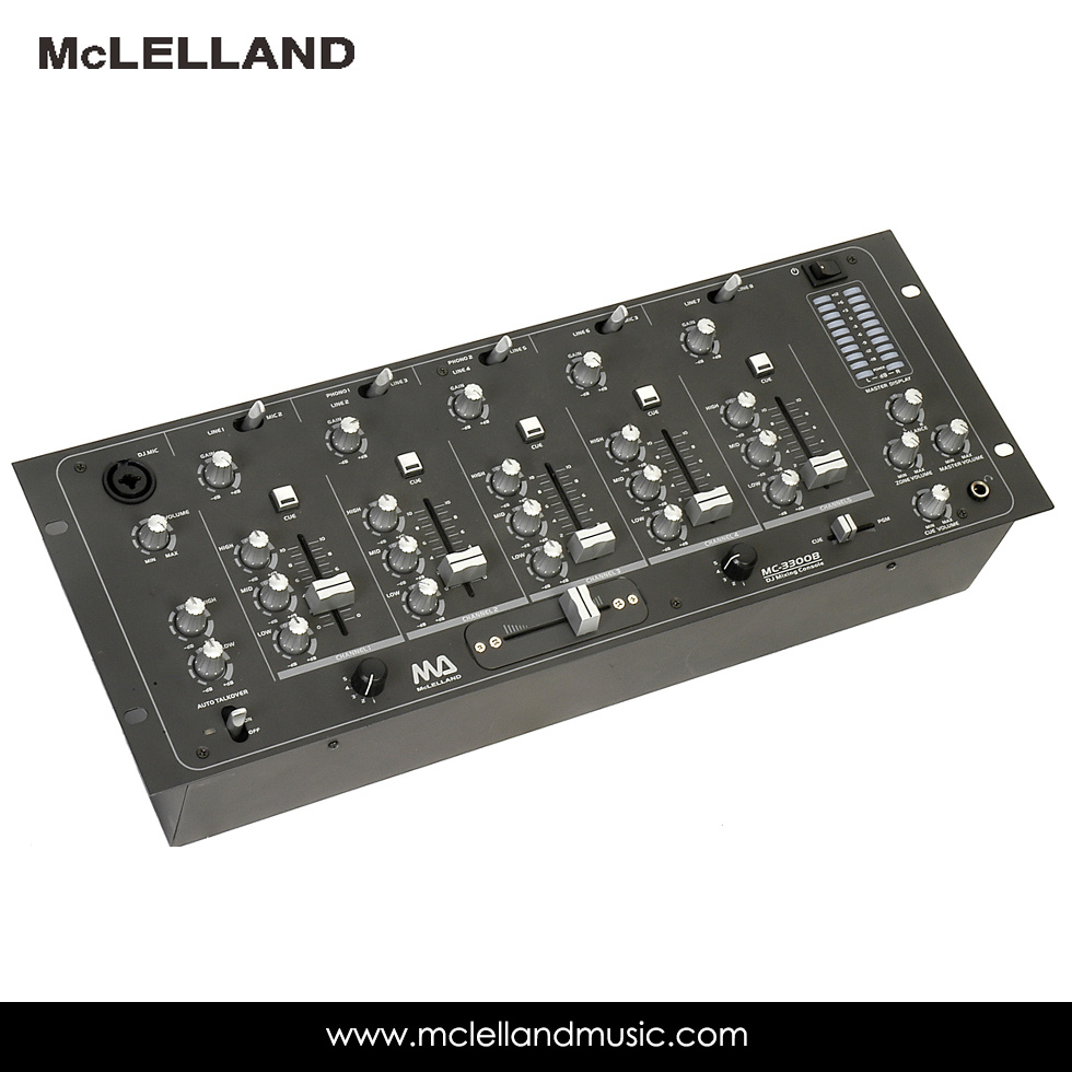 Multi Channel Stereo Mixers (MC-3300B)