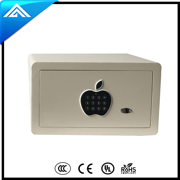 Laser Cutting Hotel Safe Box with Electronic Lock
