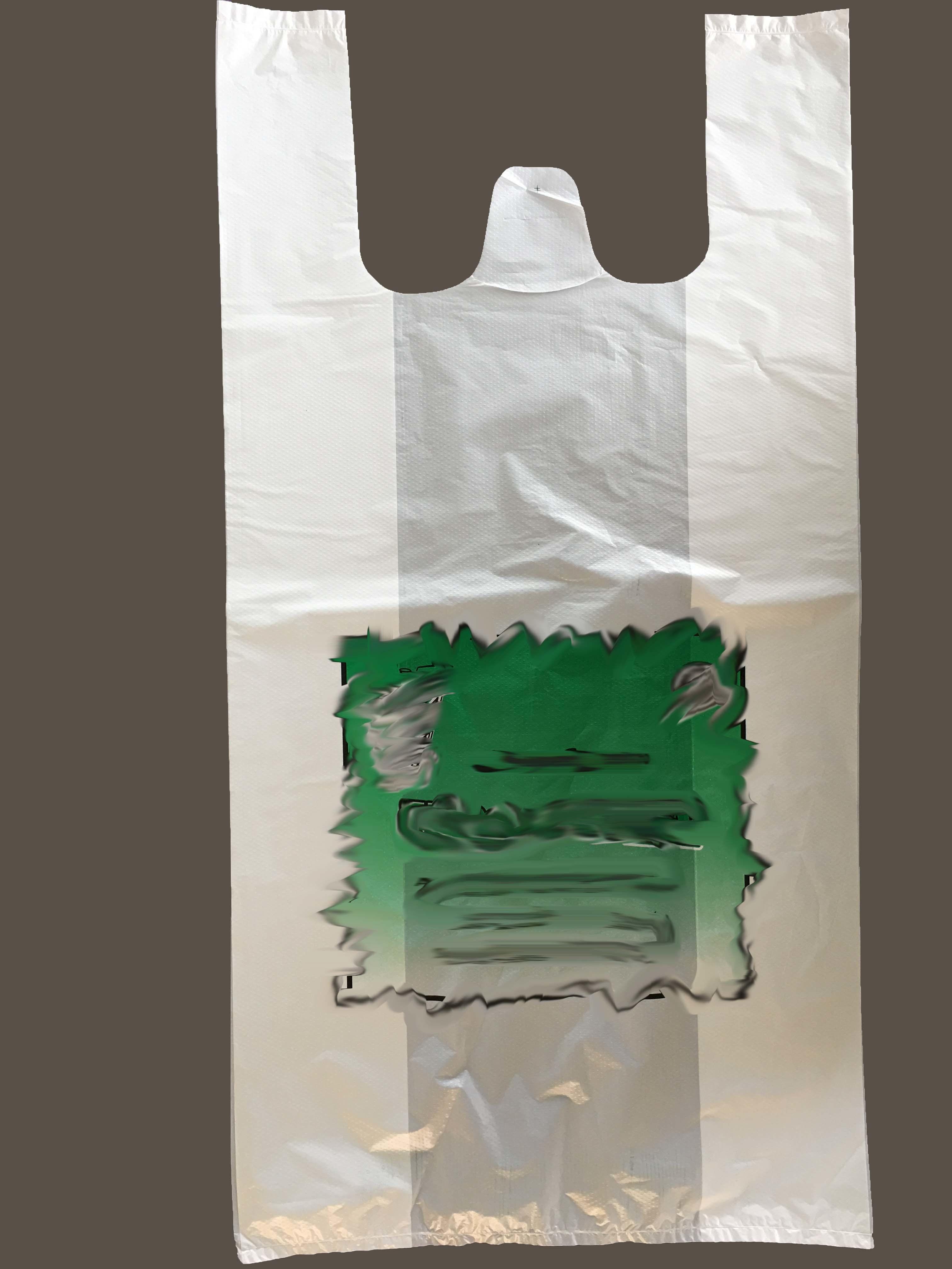 HDPE Plastic T-Shirt Bag