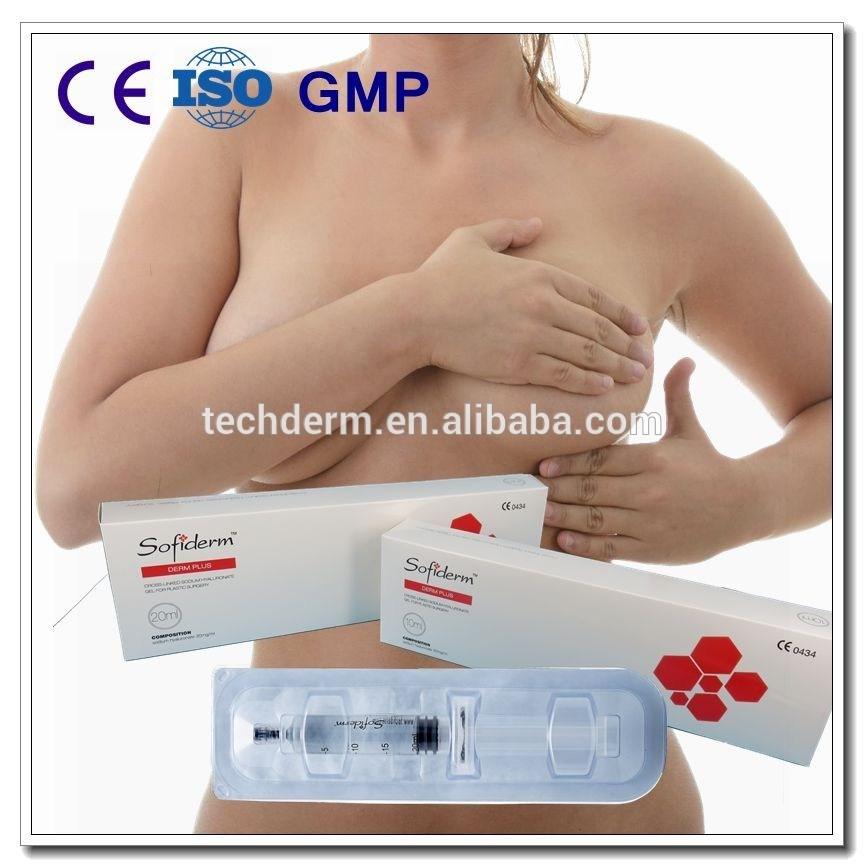 Sofiderm Hyaluronic Acid Dermal Filler for Plastic Injection (Derm Plus 20ml)