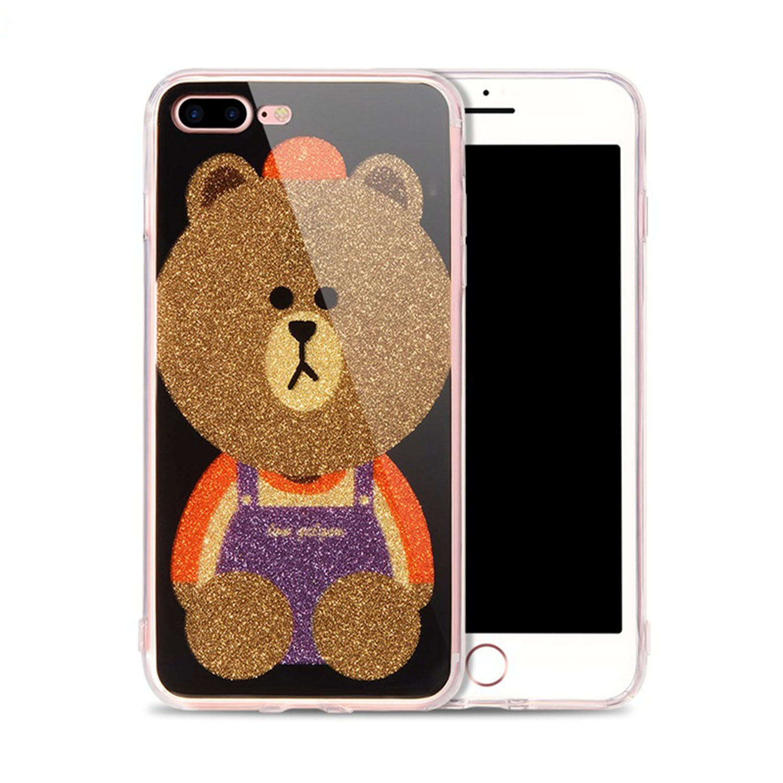 Cartoon Pattern TPU Ring Holder Phone Case for iPhone /Samsung