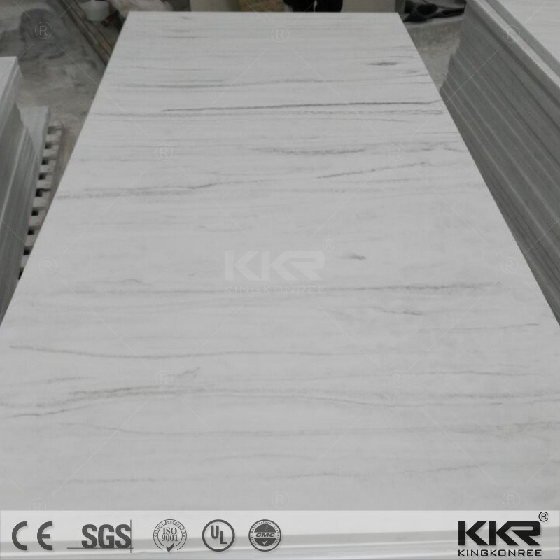 100% Pure White Acrylic Corian Solid Surface Sheets