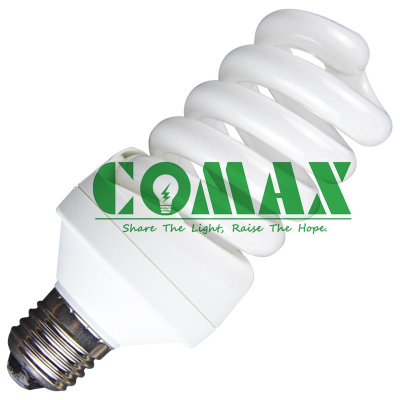 E27 B22 T4 15W~30W Full Spiral ESL/CFL Energy Saving Lamp