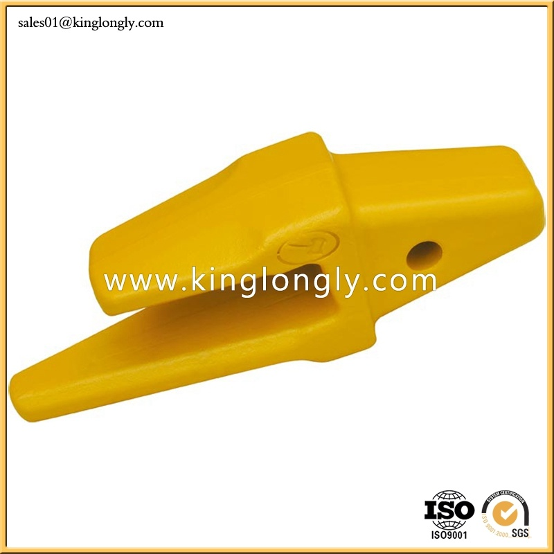 Caterpillar Bucket Tooth Adapter Forging Not Casting for Excavator Spare Parts