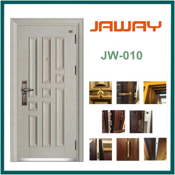 European Style White Armored Door