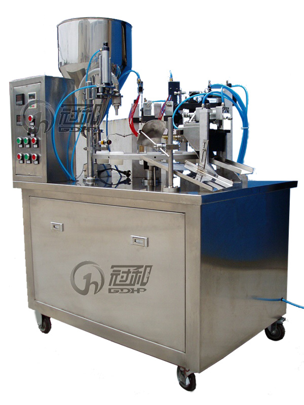 Automatic Plastic Tube Filling Sealing Machine with Inner Heating