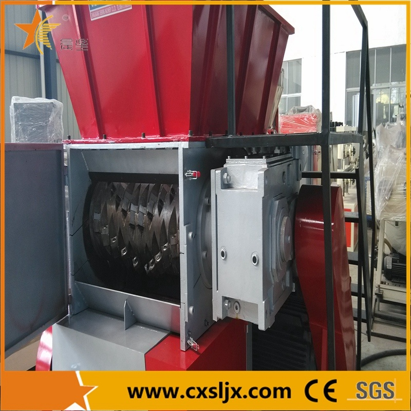 Waste Recycling Machine Plastic Shredder Crusher Combined Machine