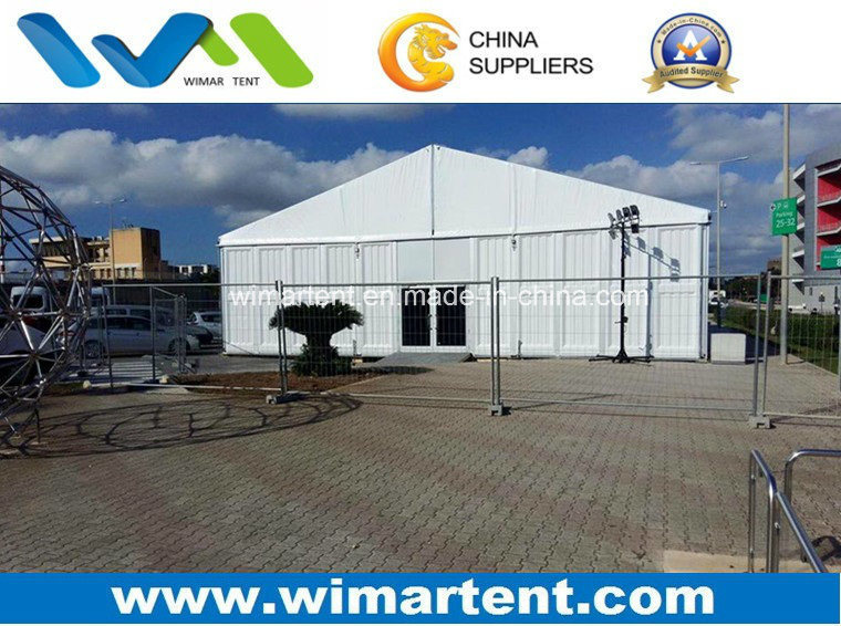 500 People White Roof and ABS Wall a Frame Tent for Event Golf