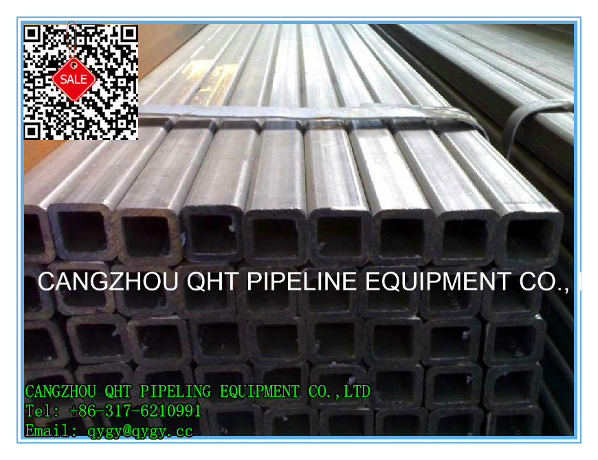 Q345b Alloy Square and Rectagular Steel Pipe and Tube