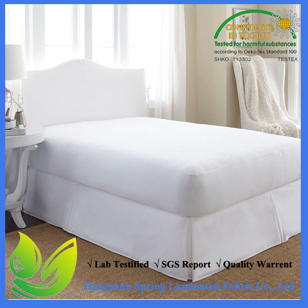 Made in China Premium Waterproof Cotton Terry Mattress Protector