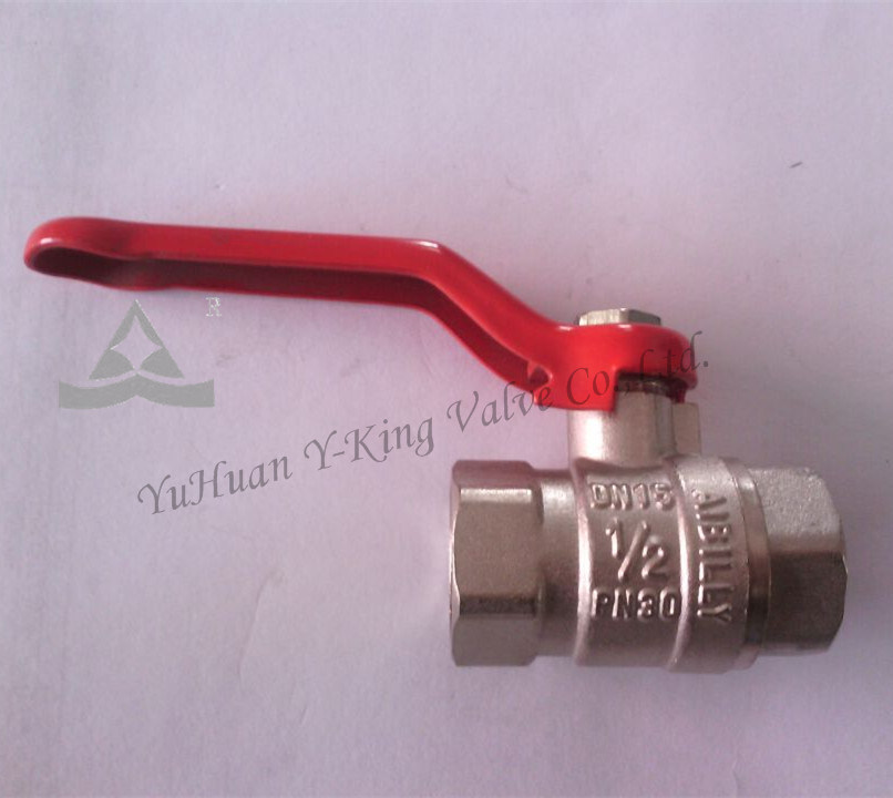 Aluminum Long Handle Brass Sanitary Ball Valve (YD-NEW1)