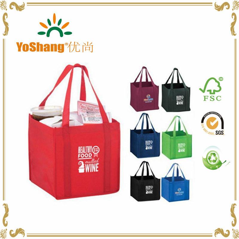 Colorful Custom Logo Non Woven Promotion Shopping Bag