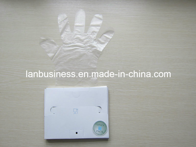 Food Grade Vinyl Disposable Gloves in High Quality