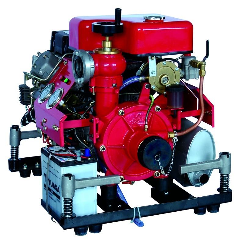 Bj-20b Diesel Fire Fighting Water Pump