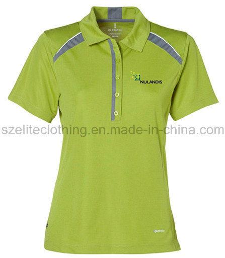 Wholesale Cheap Fashion Women Polo Tshirt (ELTWPJ-501)