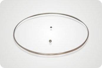 C-Type Oval Glass Lid