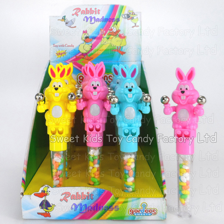 Rabbit Madness Toy with Candy (131112)