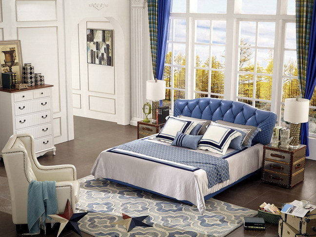 2016 Fashionable Modern Soft Bed with New Design (Jbl2005)
