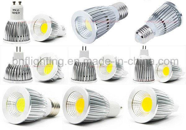 GU10 LED COB Thermalplastic Spotlight for 3W/5W/7W with Ce Saso