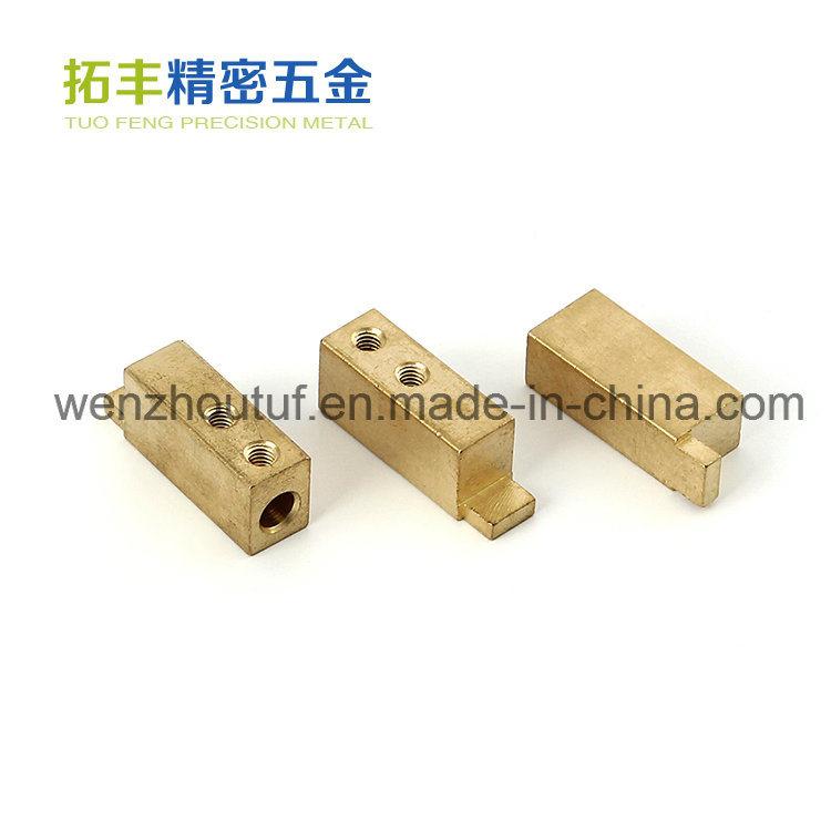 Fitting Hardware Metal Stamping Electrical Terminal Block in China