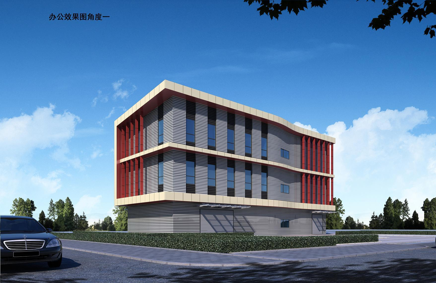 H Beam Steel Structure Office Buildings