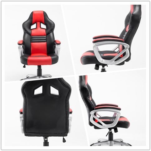 PU Leather Swivel Sports Chair /Gaming Racing Office Chair by China Online Shopping