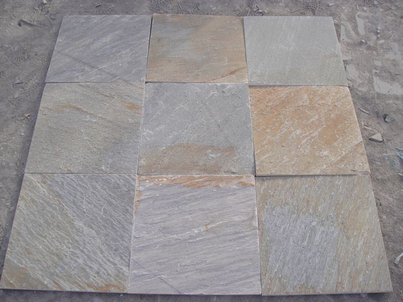 Cheapest Popular Yellow Rusty Stone Slate