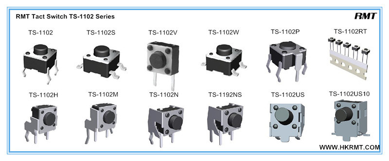 SMD Tact Switch (TS-1102S)