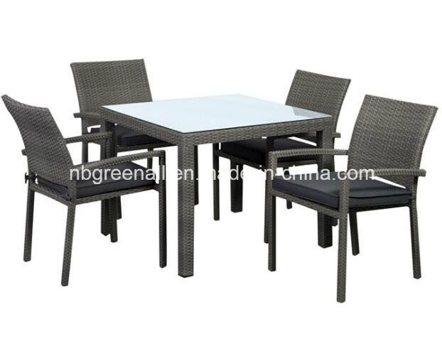 Rattan Tables and Chairs in Restaurant