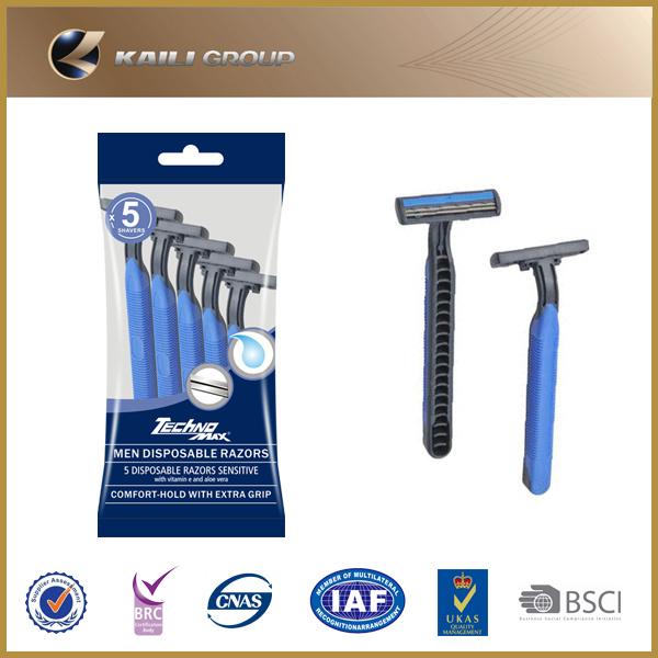 Triple Blades Disposable Razor for Men