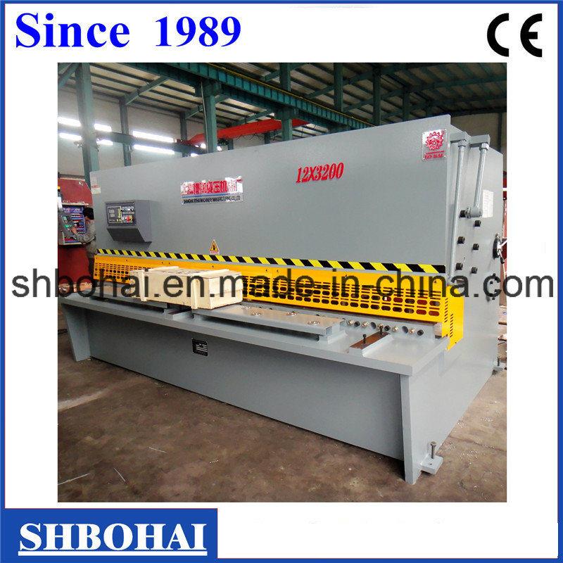 Bohai Brand CNC Hydraulic Guillotine Shearing Machine