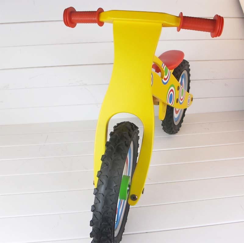 Kid Wooden Sport Walking Bike