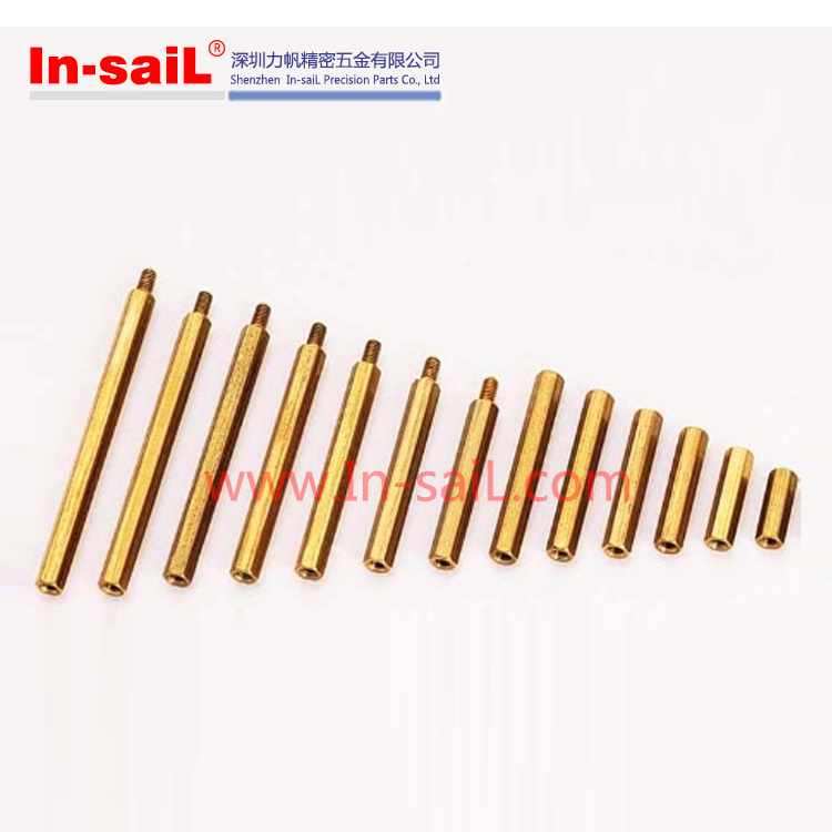 Female Brass Threaded Spacer Hex Spacer/Brass Screw/Brass Nut