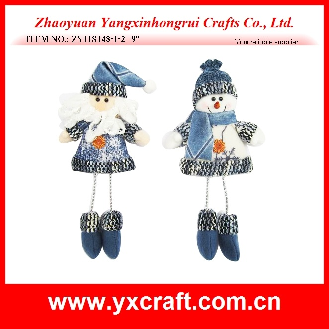 Christmas Decoration (ZY11S148-1-2) Christmas Santa Cake Decoration