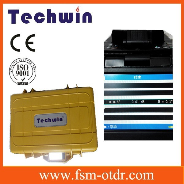 Techwin Optical Fiber Fusion Splicer Tcw-605c