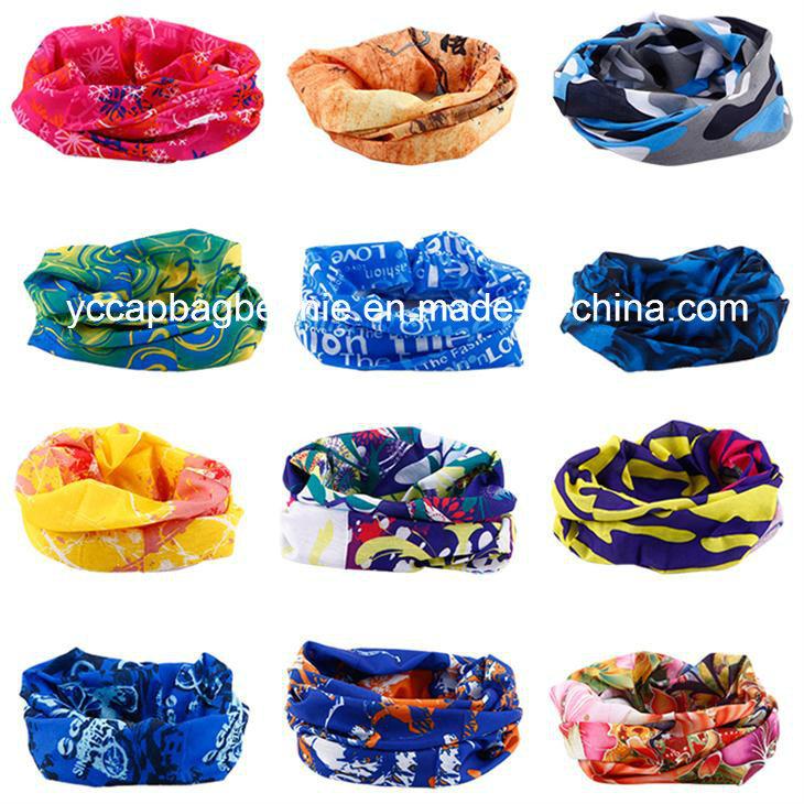 Fashion Promotion High Stretch Tube Multi Headwear Seamless Bandana