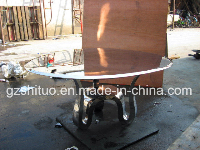Stainless Steel Table Professional Production of Metal Stainless Steel Creative Furniture, Metal Sculpture Handicraft Art, Can Be Customized