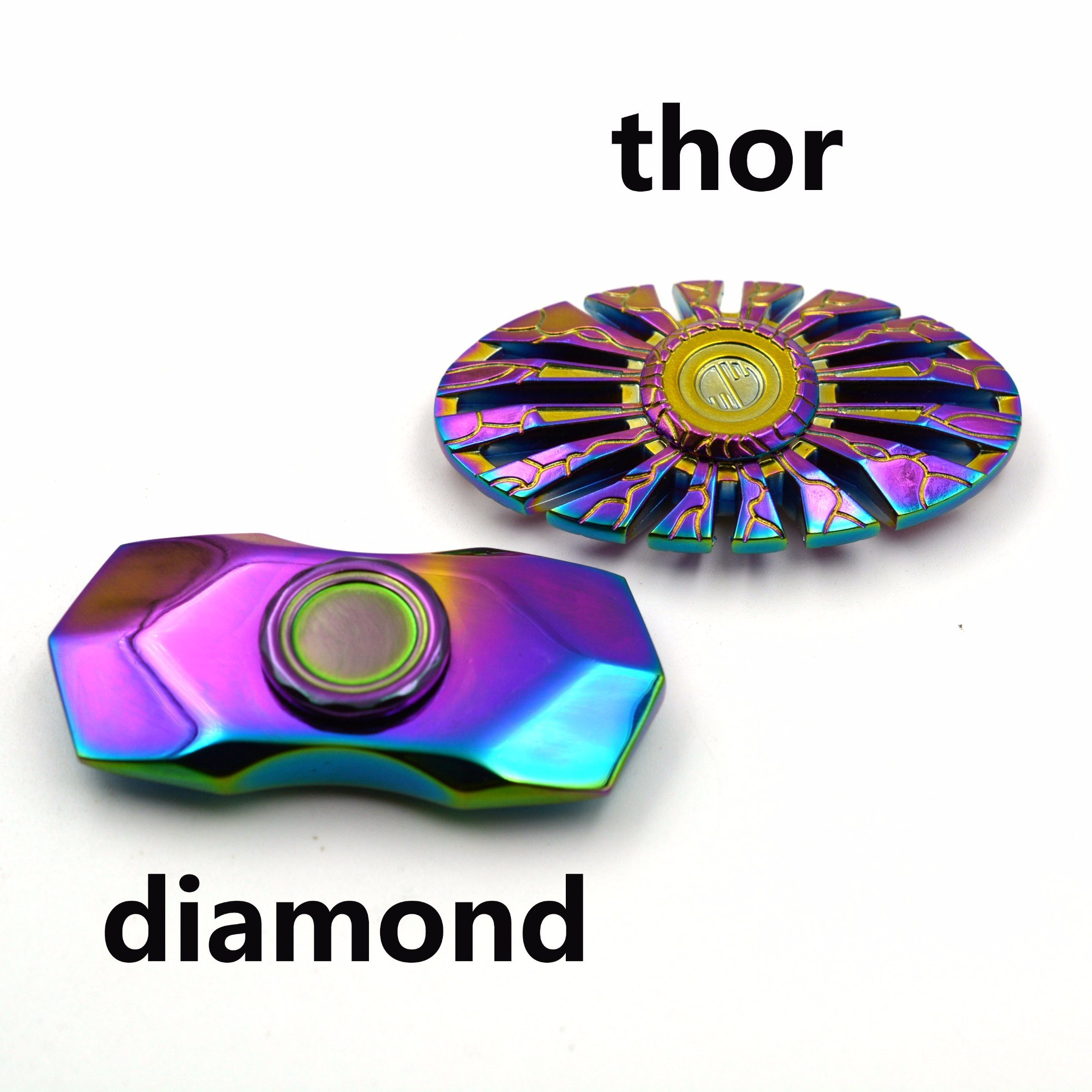 Rainbow Thor Design Metal Fidget Spinners