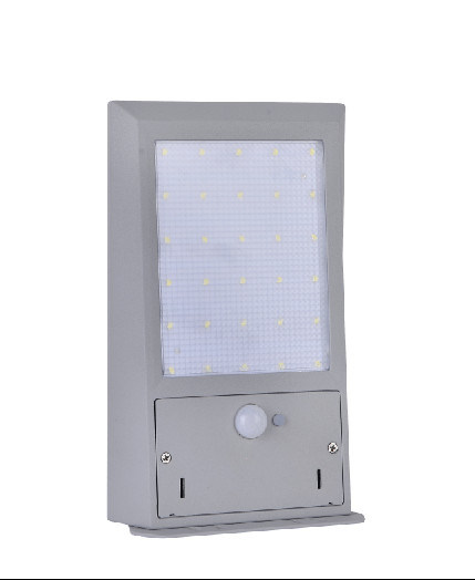 6W Solar Powered Motion Security Light