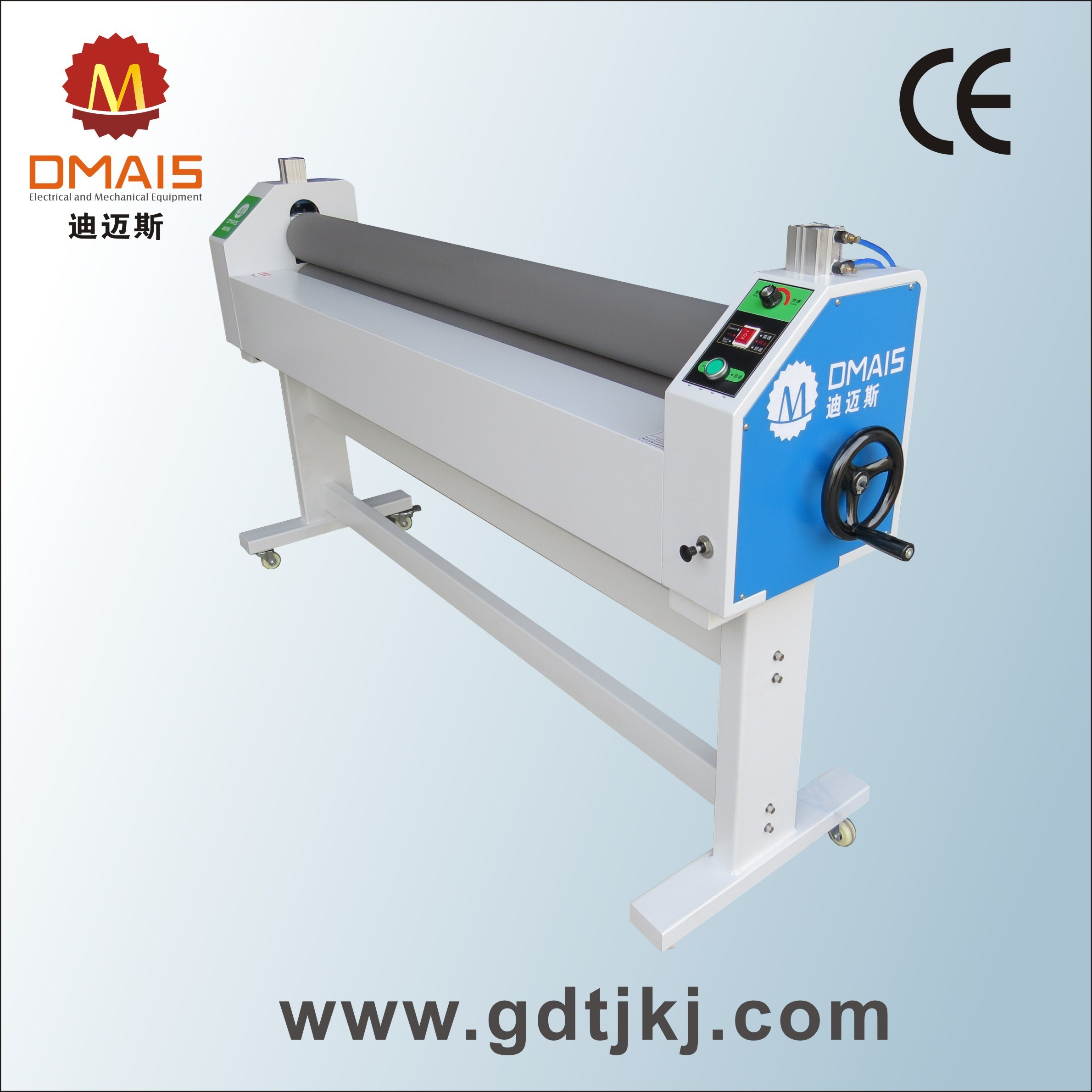 "Dmais 1.6m (63"") Warm Roll Cold Laminator for Manual Lamination"
