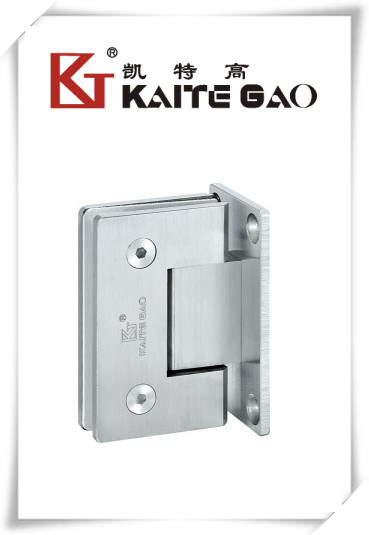 (KTG-1002) Solid Bathroom Door Hinge/90 Degree Glass to Wall Hinge
