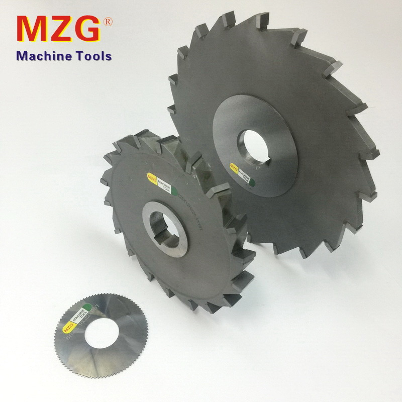 Side Edge Welding Tungstan Steel Rough Grooving Milling Cutter
