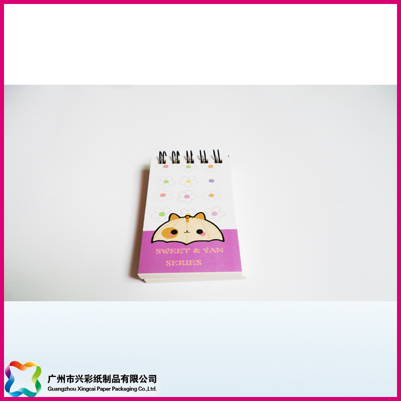 2017 Top Selling Stationery Wholesale OEM Custom Cartoon Animal Design Paper Note Pad with Logo
