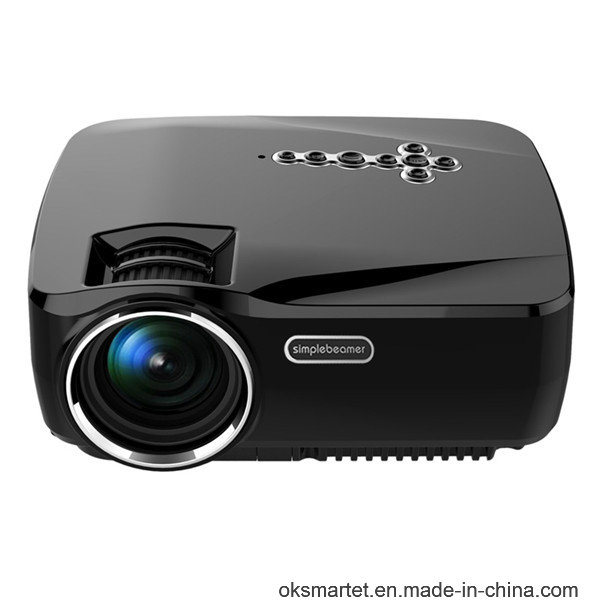 Hot WiFi Projector 1080P Full HD Video TV Gp70up Projector