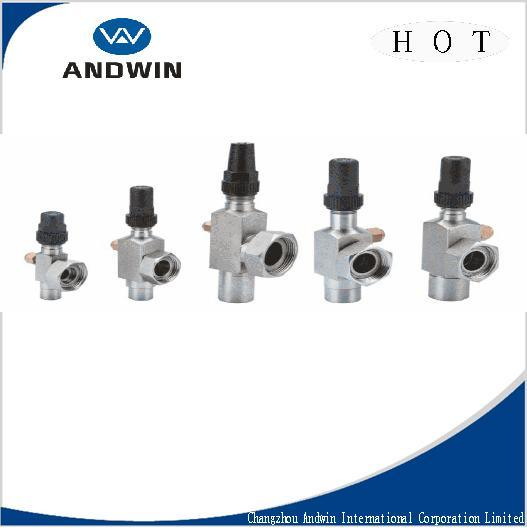Customized Rotalock Valves with Flare Connections/Refrigeration Part/Steel Part