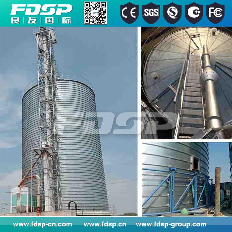 Galvanized Steel Silo/Wood Pellets Storage Silo with Ce Certificate