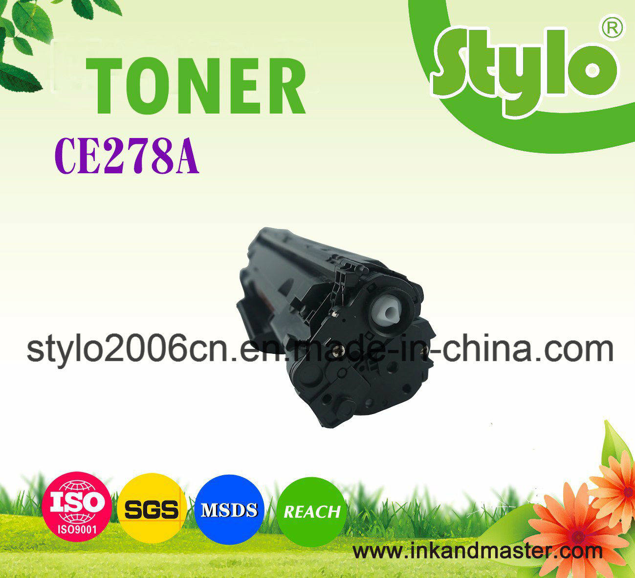 Toner Cartridge Ce278A for Use HP Laserjet Printer