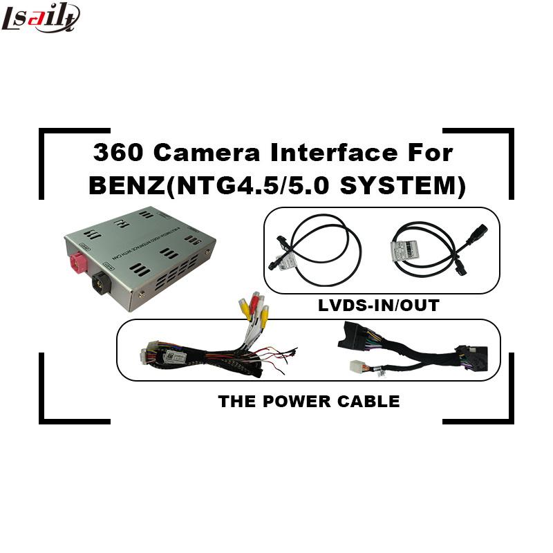 Car Reversing Camera 360 Interface for Mercedes-Benz C/B/a/E/Glc/Cla/Gle Ntg5.0