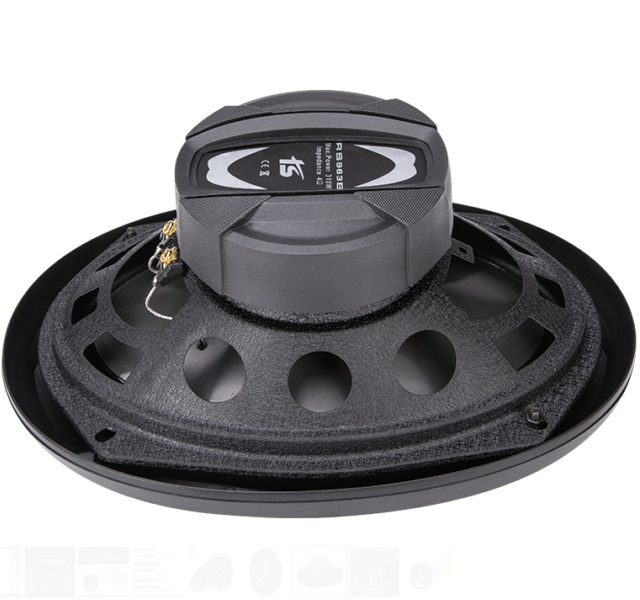 963b 9X6 High Power Coaxial Horn Speaker for Car