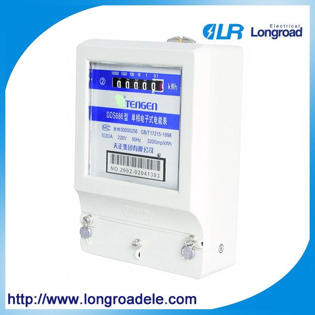 Single Phase Static Watt-Hour Meters (DDS686)